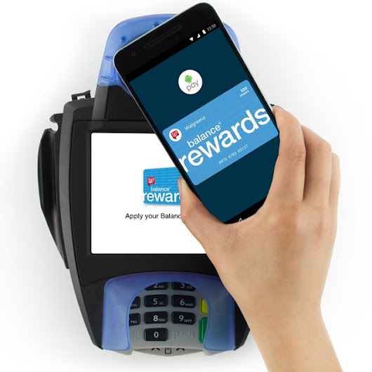 Walgreens is the first company to integrate a loyalty program with Android Pay