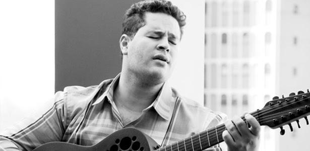 O cantor Pedro, filho do sertanejo Leonardo, durante ensaio (22/3/11)