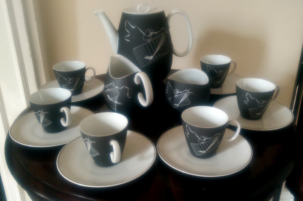 008 Johann Havilland coffee set