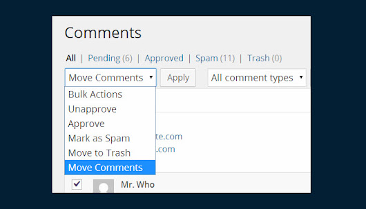 How to Move WordPress Comments from One Post to Another