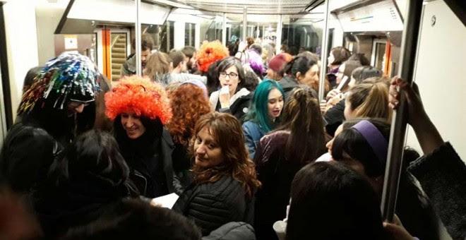 Imagen de un vagón del Metro de Bilbao. | D.A.