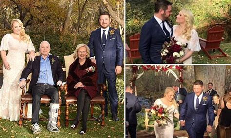 Meghan McCain got 'really drunk on whiskey' at her wedding