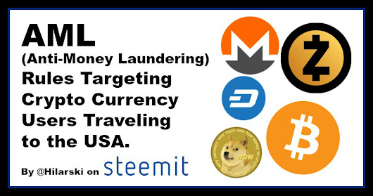 Proposed Update to Law in the USA Targets Travelers Who Use Crypto Currencies. — Steemit