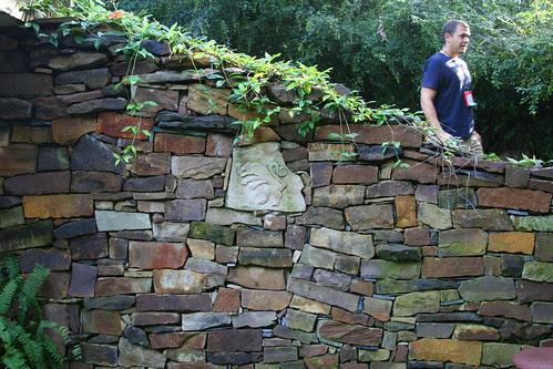 hobbit house stonework