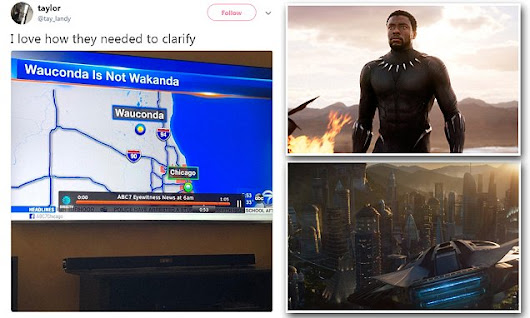 Black Panther fans find town with similar name to Wakanda, in Illinois
