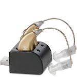 MEDca Digital Hearing Amplifiers Rechargeable | BTE Personal Sound Enhancer Digital High Power Amplifier Pairs USB Dock
