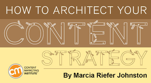 How to Architect Your Content Strategy