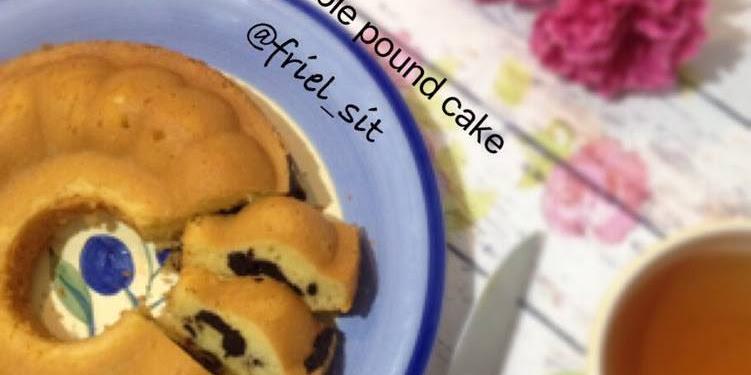 Resep Marble Pound Cake, No Emulsifier Oleh Frielingga Sit