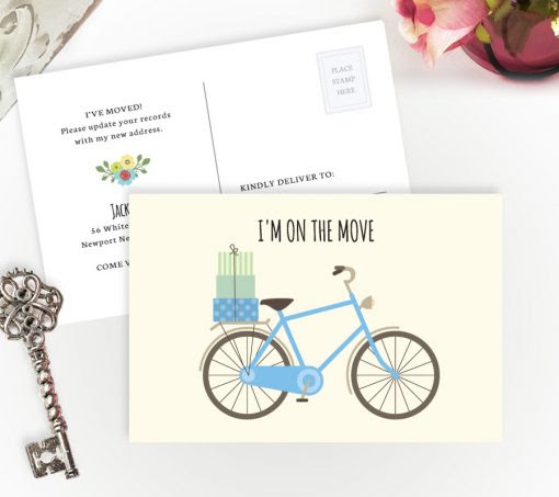 Moving Announcement Cards | Personalized Moving Cards