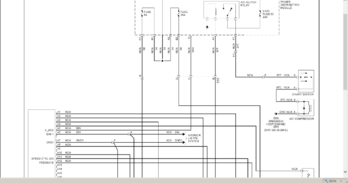 9957 Freightliner Cascadia Wiring Diagram Doc Download