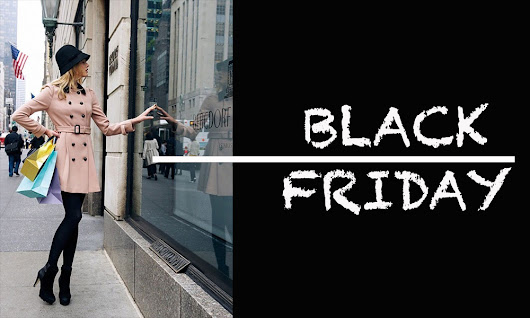 BLACK FRIDAY: SCONTI, SHOPPING…E GOODBYE DIGNITY! - Nayla Carvalho - Italian Blogger - Web Editor