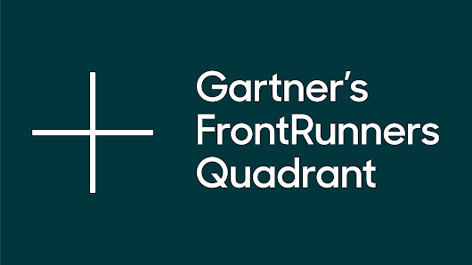 Gartner's FrontRunner Help Desk quadrant: Zendesk in Leaders quadrant
