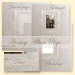 Printable Heritage Album Page