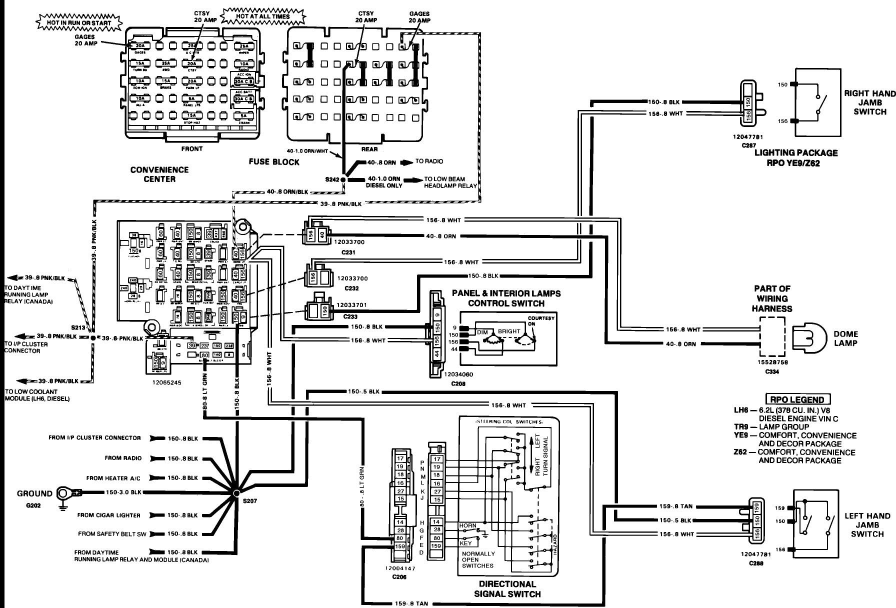 Chevy Alternator Wiring Info