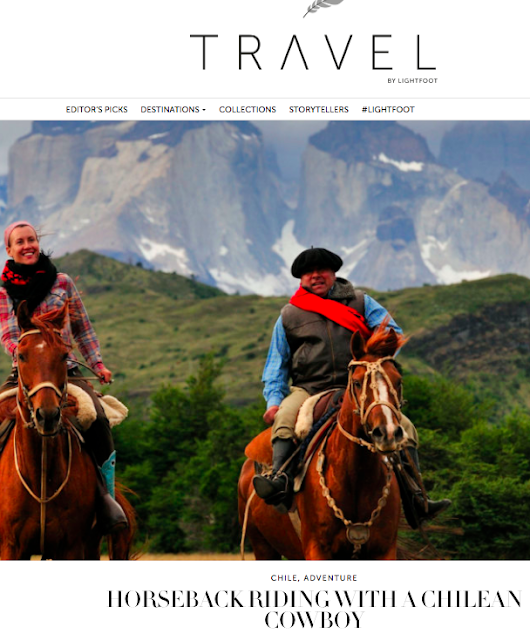 Lightfoot Travel — Horseback Riding with a Chilean Cowboy