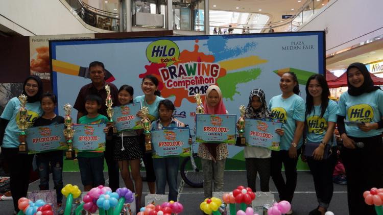 Ribuan Pelajar Unjuk Kreativitas Di Grand Final Hilo School Drawing