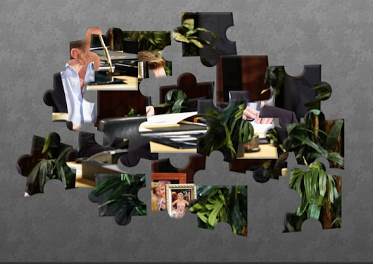 'The Young and The Restless' Puzzle Fun!  Guess The Y&R Hunk! | Hollywood Hiccups