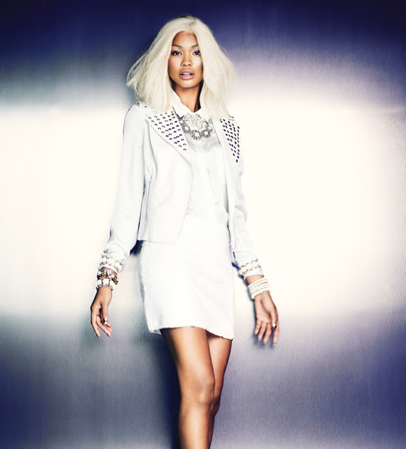 Forever 21 x Chanel Iman Let it Glow Holiday 2012 Campaign