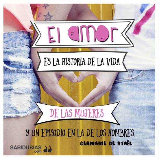 El Amor Es La Historia De La Vida De Las Mujeres Y Un Episodio En La