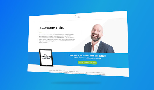 (FREE) Image Overlap Divi Page Layout - JoshHall.co