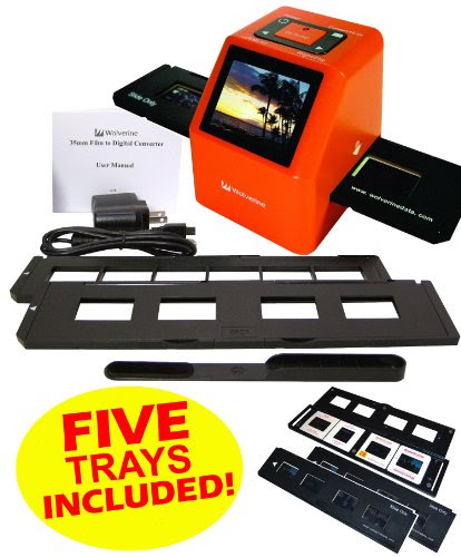 Wolverine F2d20 20 Mp 35mm Slides 110 Film And Negatives To Digital