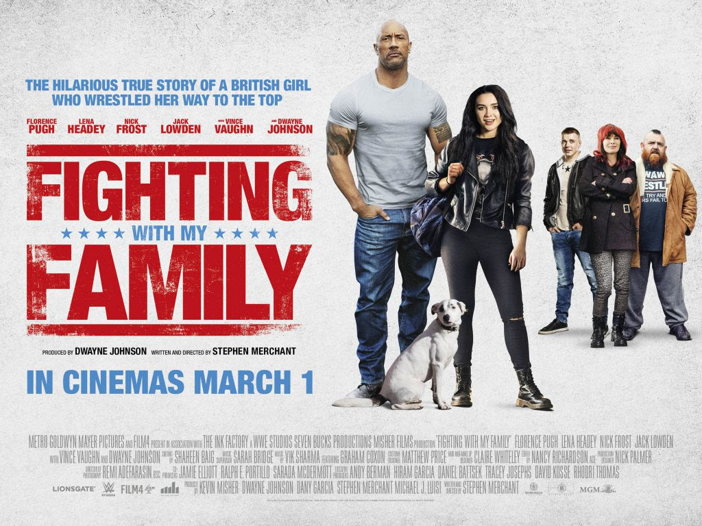 Art Art Posters Art Fighting With My Family Poster 2019 Wwe Movie The Rock Film Wrestling Art Print Zsco Iq
