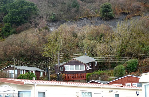 There goes a million pounds: Demolition of seaside chalets worth ...