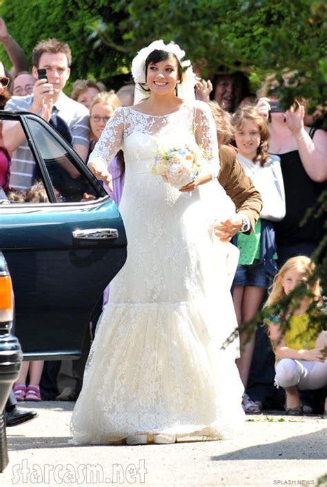 Sam Cooper and Lily Allen wedding photos   starcasm.net