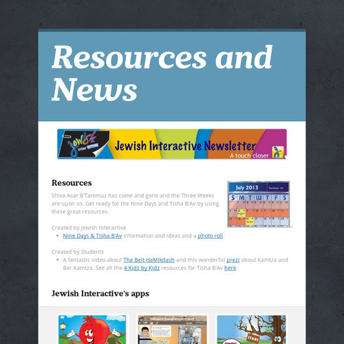 Resources and News