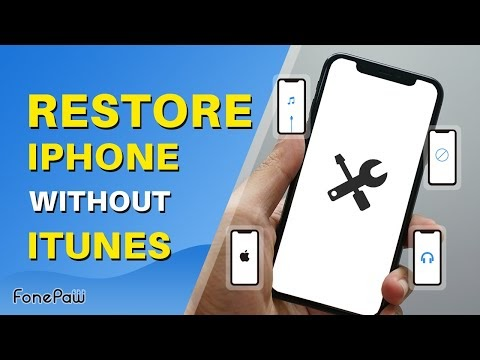 How to Restore iPhone Without iTunes (iPad)