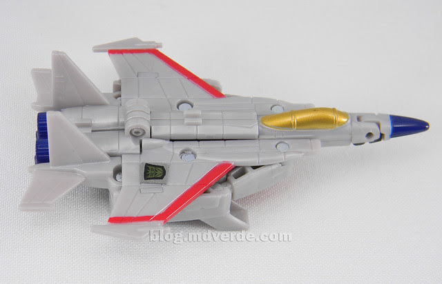 Transformers Starscream Reveal the Shield Legends - modo alterno