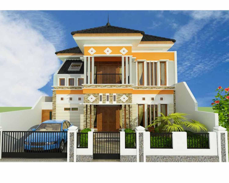 103 Gambar Rumah Minimalis 2 Lantai Elegan Gambar Desain Rumah