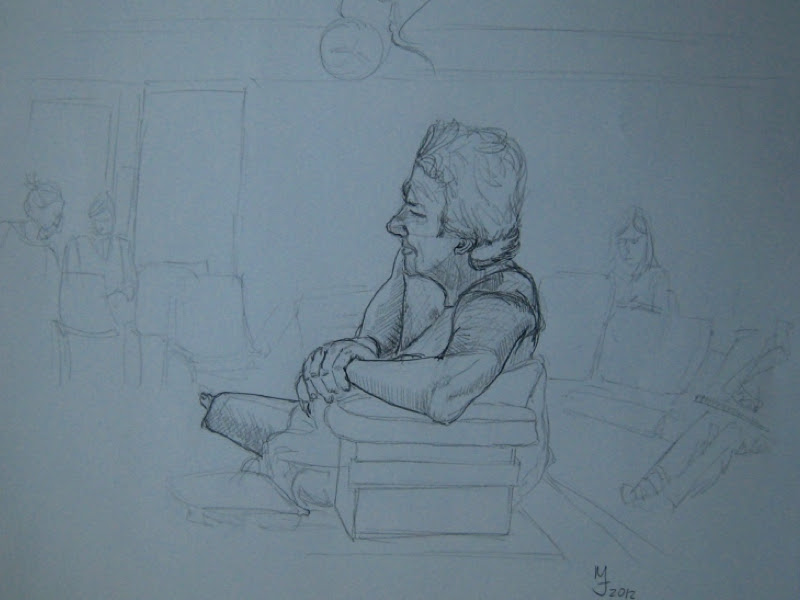 MJ SkETCHBOOK | Sandy Hill Life Drawing Class