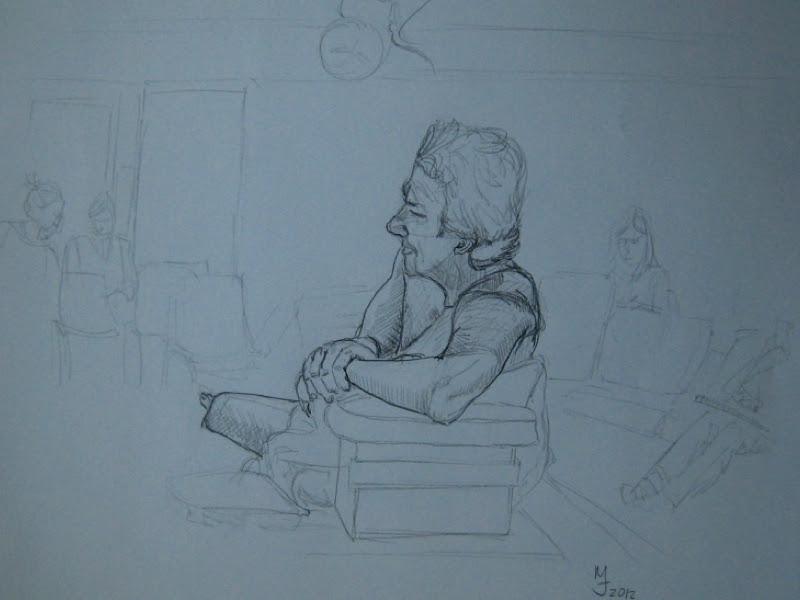 MJ SkETCHBOOK | Sandy Hill Life Drawing Class