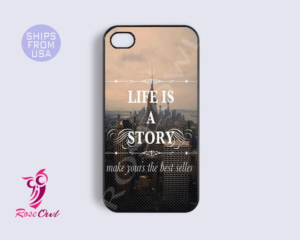 Iphone 5s Case, Iphone 5s Cover Life Quotes Unique