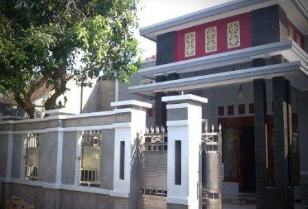 contoh gambar pagar depan rumah minimalis