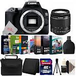 Canon Eos 250D Rebel SL3 24.1MP Digital SLR Camera + 18-55mm Lens Complete Bundle