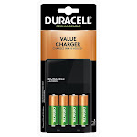 Duracell Ion Speed 1000 4-8 hr battery charger (for 4xAA/AAA) - AA - NiMH