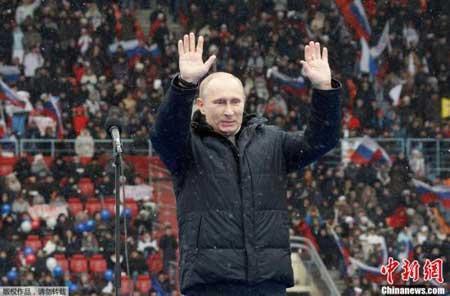 Putin gana las elecciones rusas