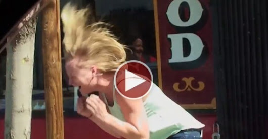 This Waitress Becomes The Victim Of  A Life Changing Prank