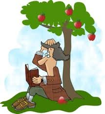 Image result for Sir Isaac Newton cartoon