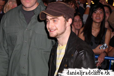 Updated: Again Dan at the Stage Door