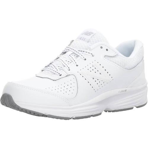 New Balance 411 Women's Cush Walking Shoes, Size: 7, White