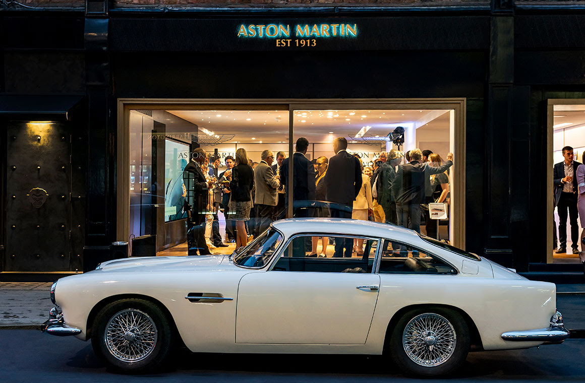 Aston Martin Works Heritage Showroom Opens In London S Mayfair