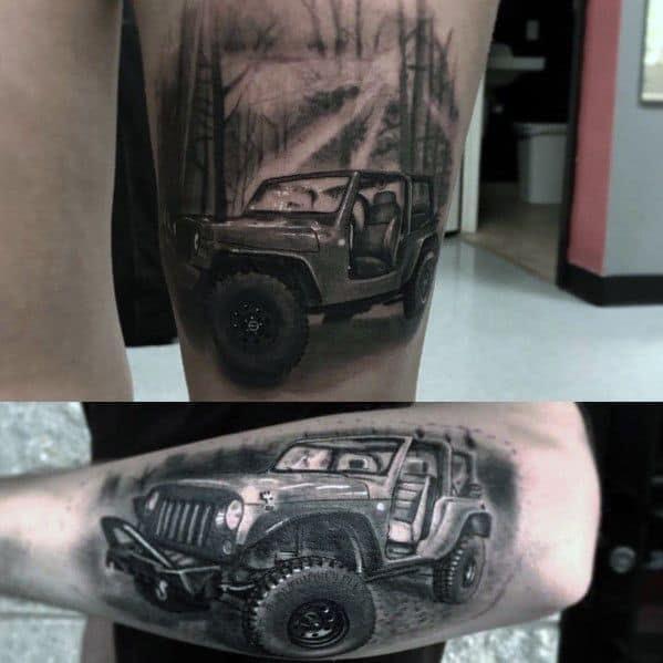 Tatuagem Jeep Ideas Para Caras