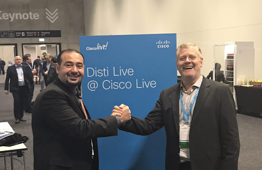 Cisco Live 2017, Berlin... Just started... The destination for the education and inspiration you need today