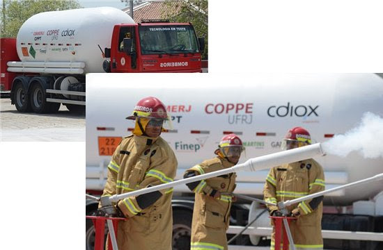 Tecnologia brasileira reduz tempo de combate a incêndios