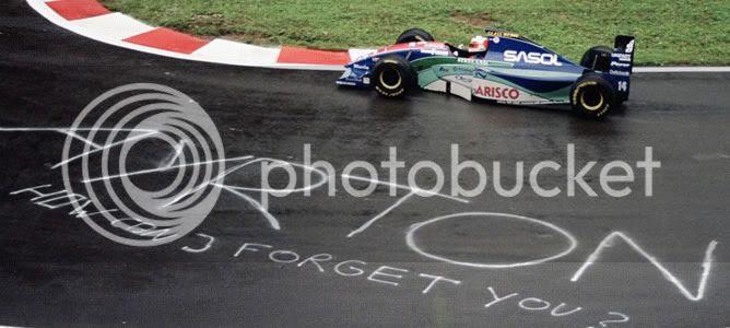 Rubens Barrichello Spa Bélgica pole 1994 Ayrton Senna