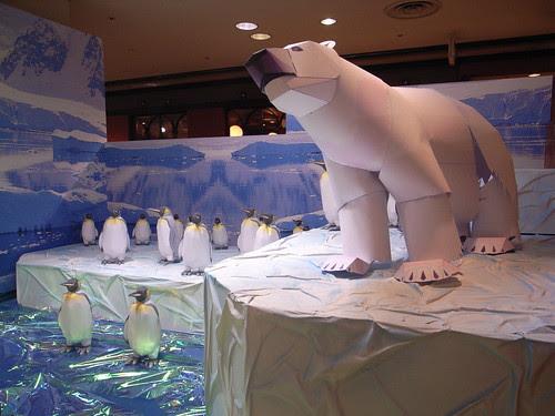 Papercraft animals