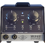 Universal Audio SOLO/610 - Classic Vacuum Tube Microphone Preamplifier and DI Box